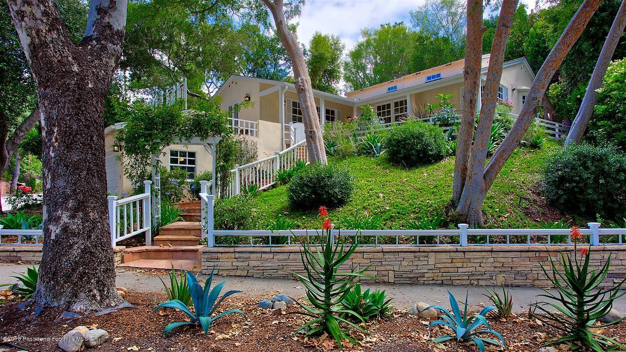 1627 LA LOMA, Pasadena, CA 91105 - Beautiful Curb Appeal