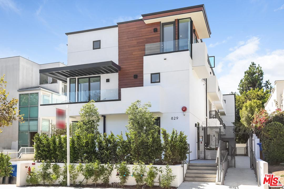 829 NORTH MARTEL #2, LOS ANGELES, CA 90046