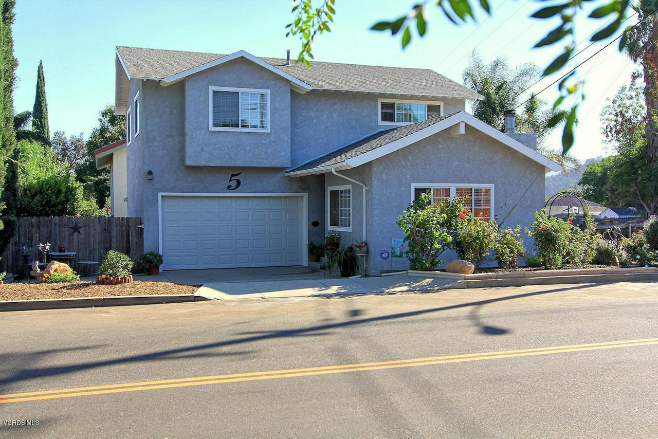 5 VALLEY, Oak View, CA 93022 - 1. Front of home