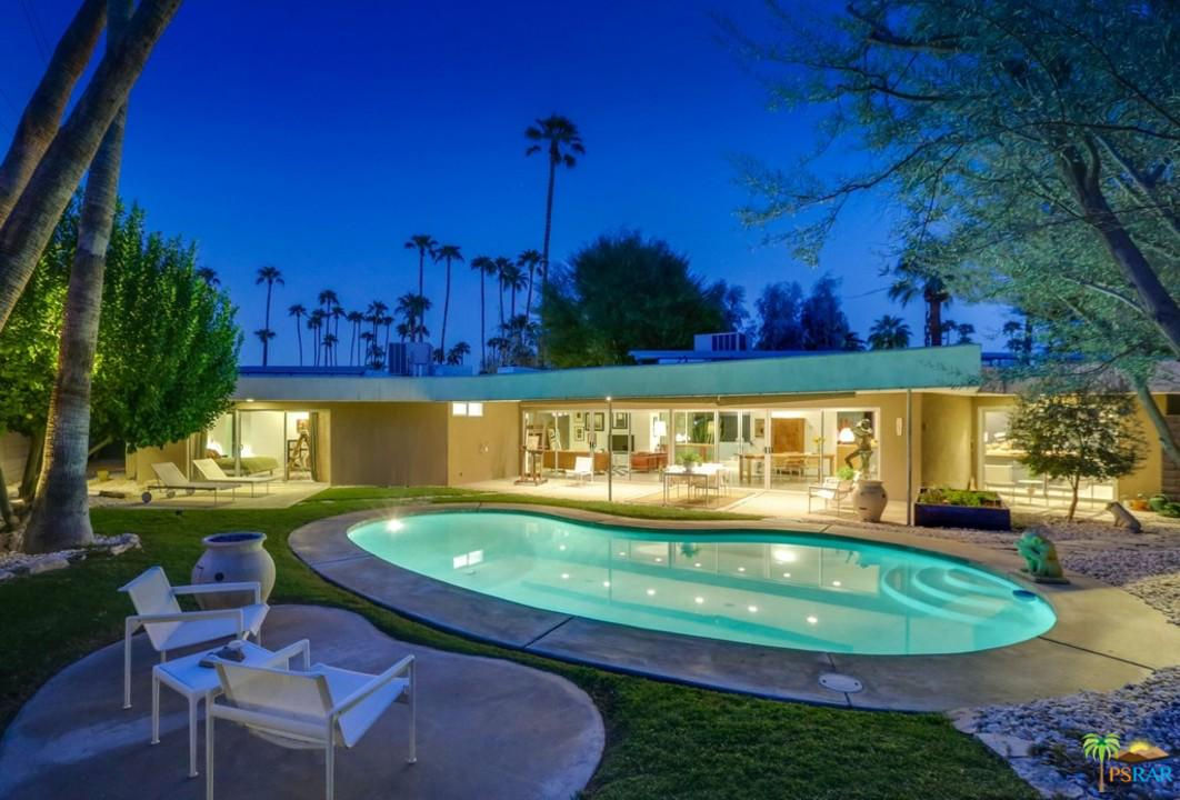 Mid Century Modern Homes For Sale In Palm Springs