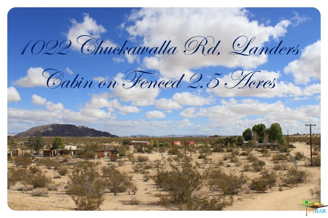 1022 CHUCKAWALLA, Landers, CA 92285