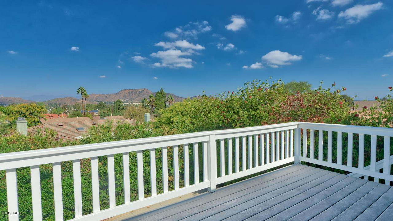 161 SANDRA, Newbury Park, CA 91320 - Master Balcony