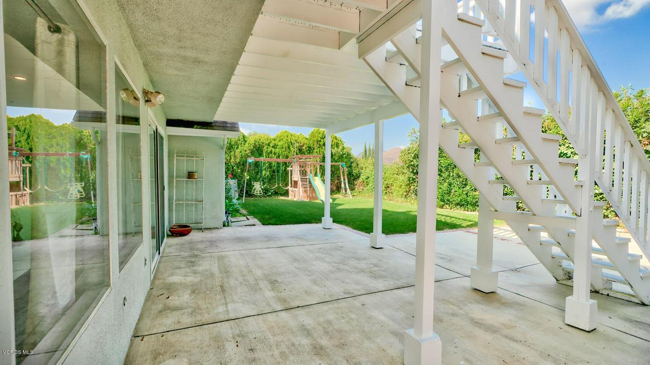 161 SANDRA, Newbury Park, CA 91320 - Rear Yard
