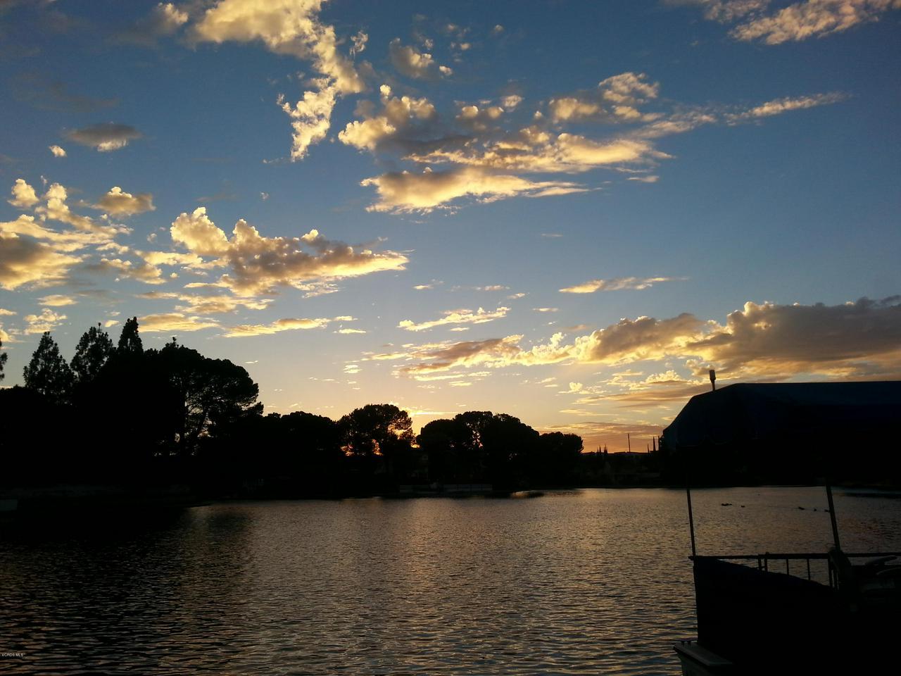 5512 OLD SALT, Agoura Hills, CA 91301 - 20140907_190441 Lake and sky shot