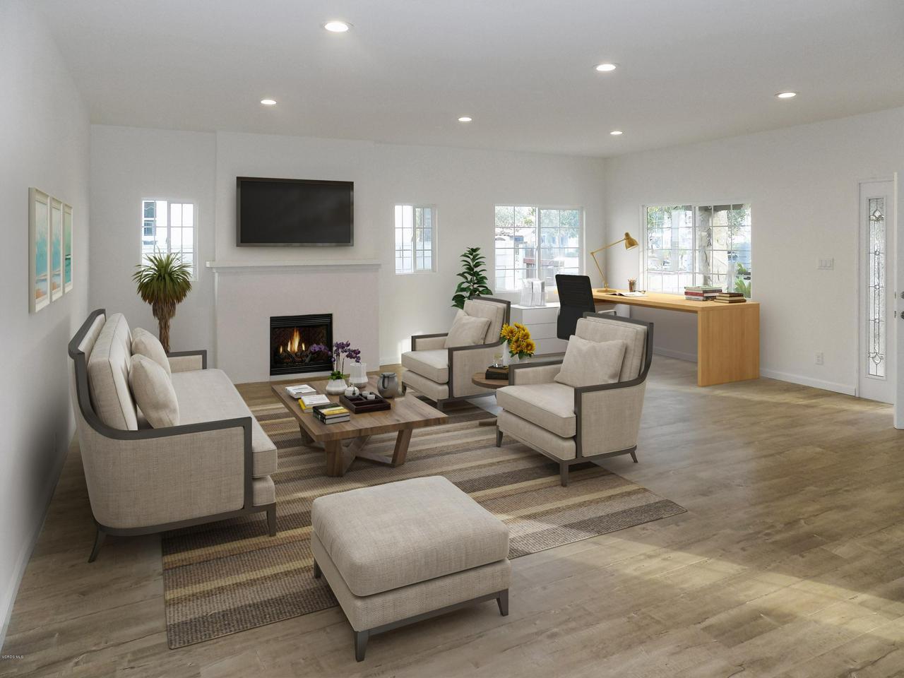 319 MAGNOLIA, Oxnard, CA 93030 - LIVING ROOM