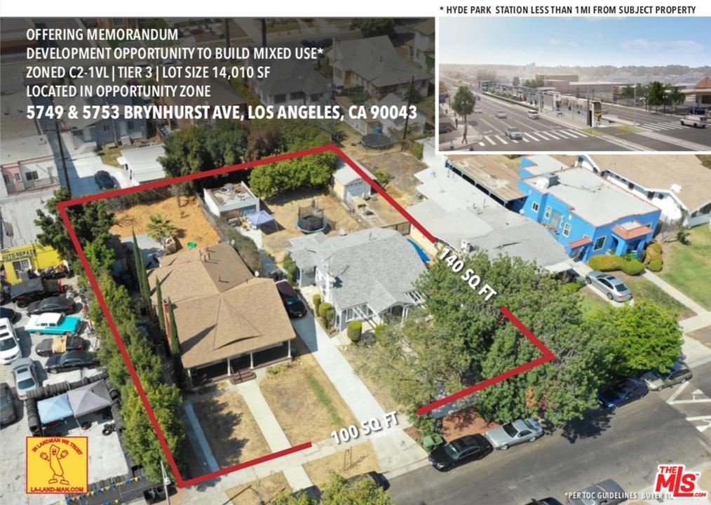 5749 BRYNHURST, Los Angeles (City), CA 90043