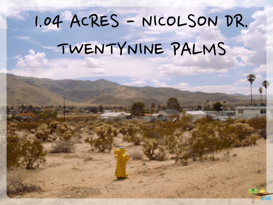 72501 NICOLSON, 29 Palms, CA 92277