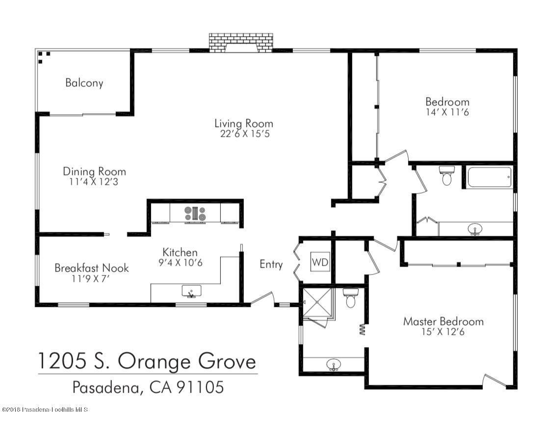 1205 ORANGE GROVE, Pasadena, CA 91105 - Screen Shot 2018-11-12 at 3.41.25 PM