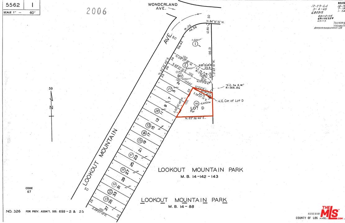 0 LOOKOUT MOUNTAIN, Los Angeles (City), CA 90046