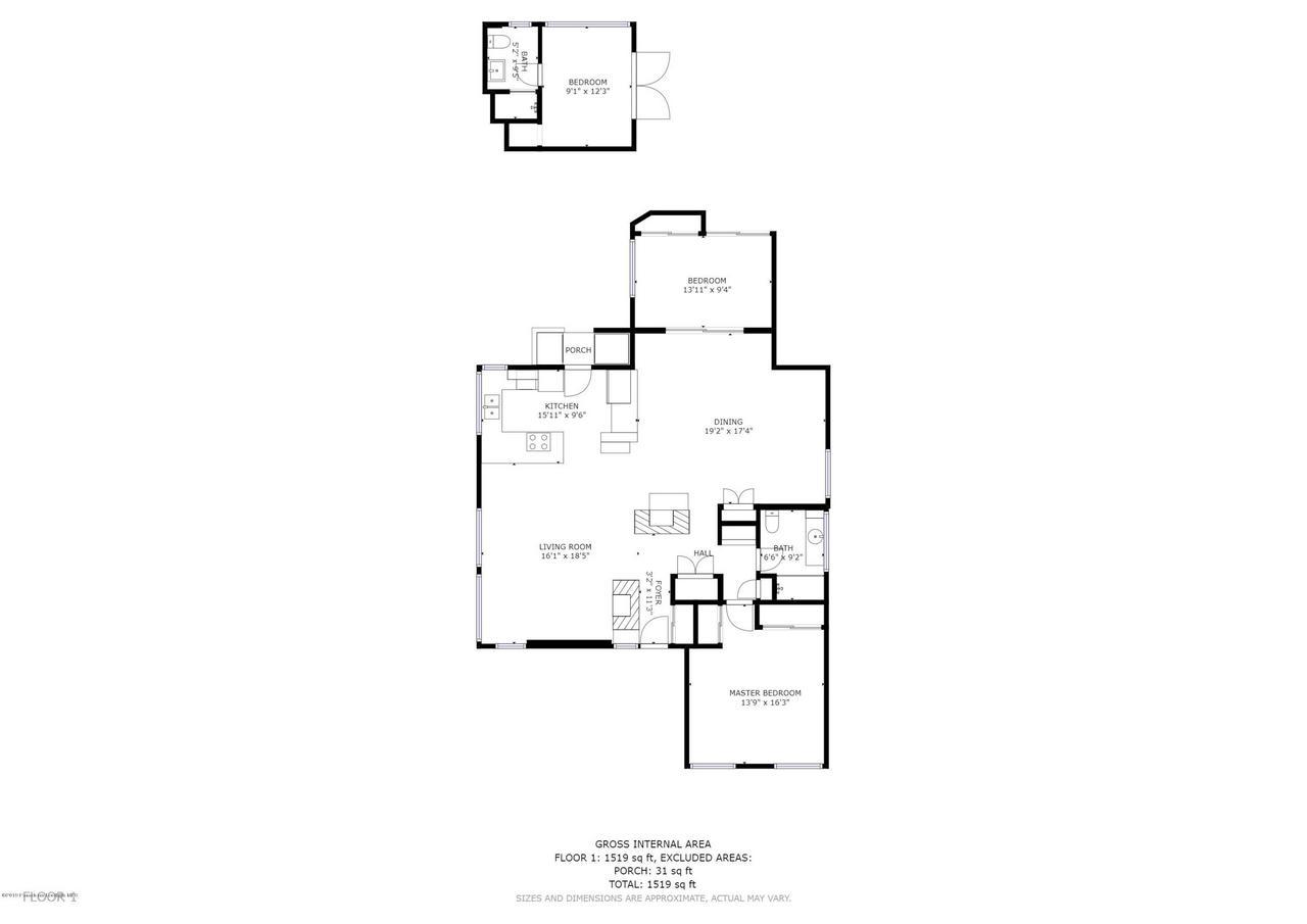 120 AVENIDA SANTIAGO, San Clemente, CA 92672 - Floor Plan Santiago