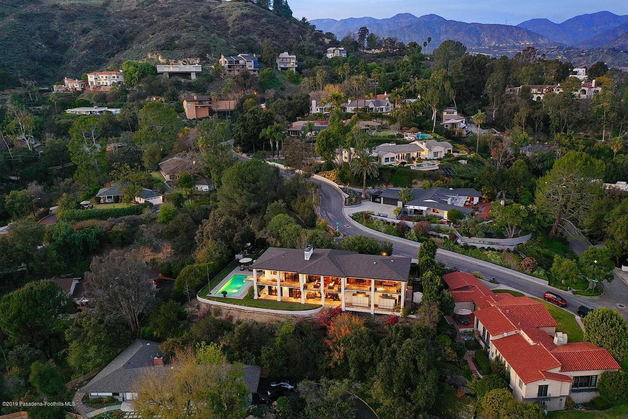 1825 BRAEMAR, Pasadena, CA 91103 - BRAEMAR DRONE MLS 13