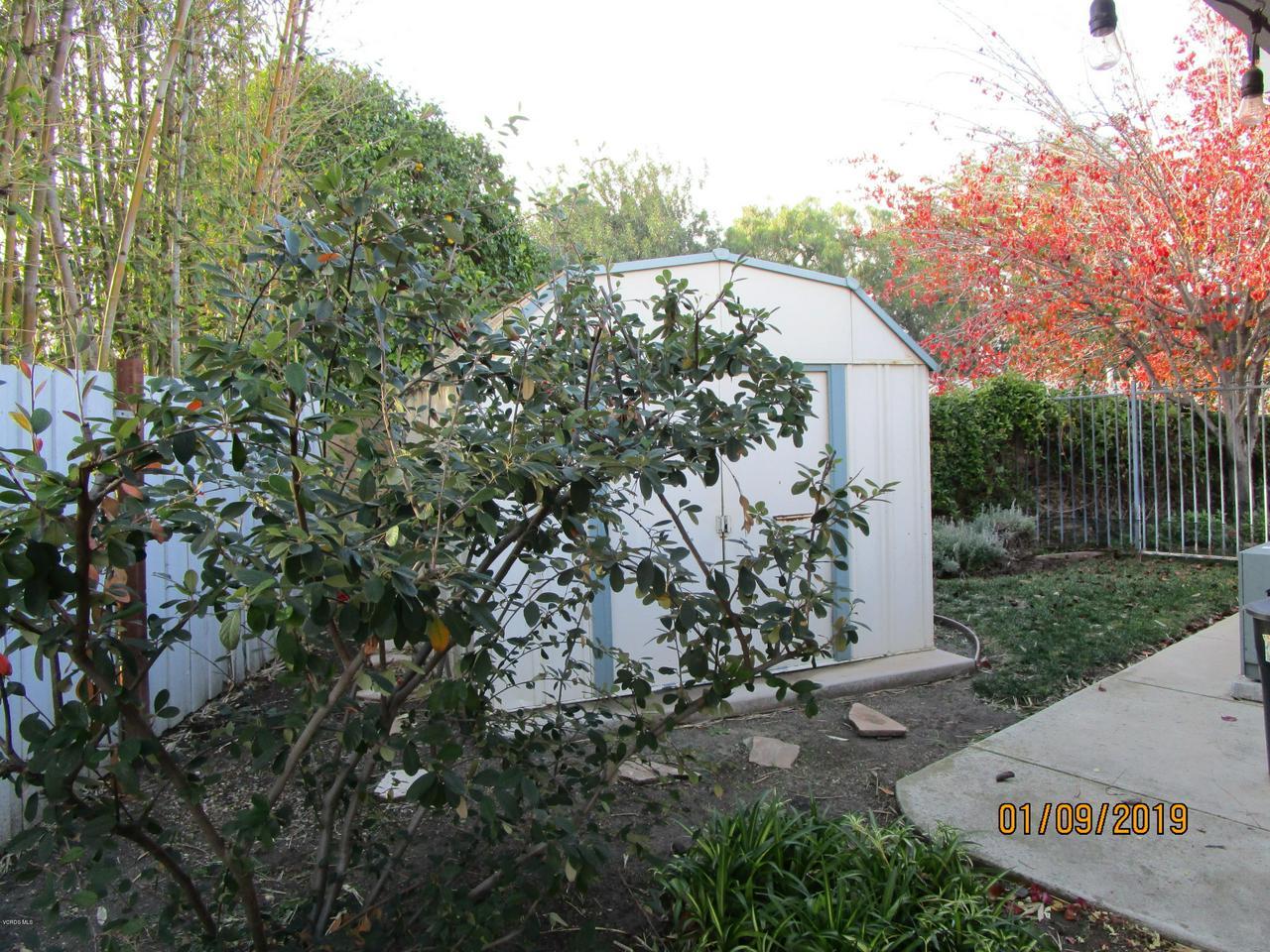 10720 TERNEZ, Moorpark, CA 93021 - Side Yard Shed