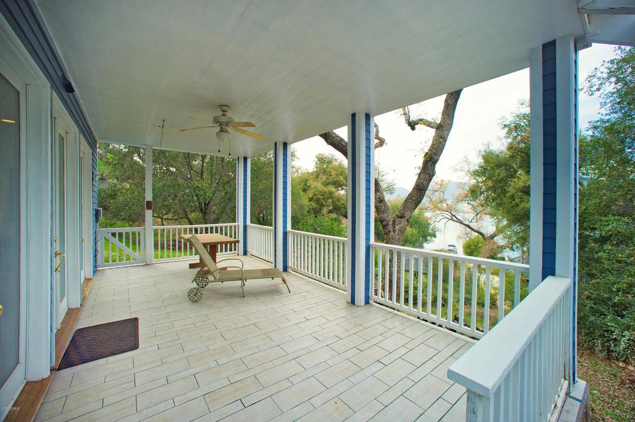 115 GILES, Lake Sherwood, CA 91361 - Patio off Billiard Room