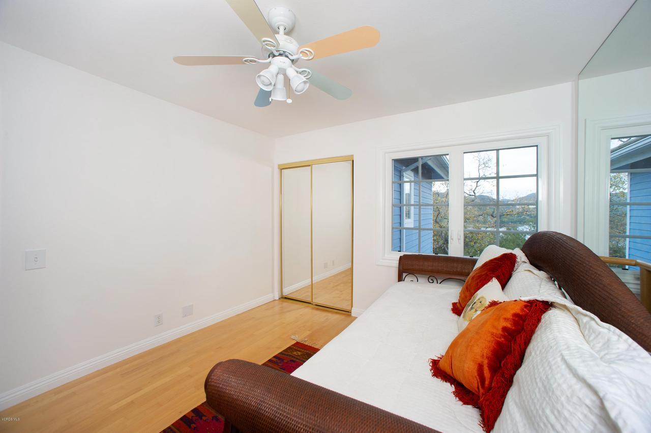 115 GILES, Lake Sherwood, CA 91361 - Bedroom 4 View to lake