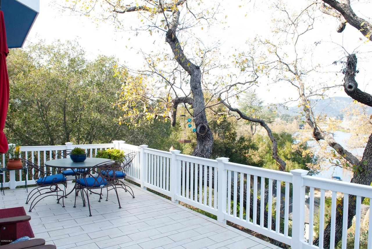 115 GILES, Lake Sherwood, CA 91361 - View from Deck