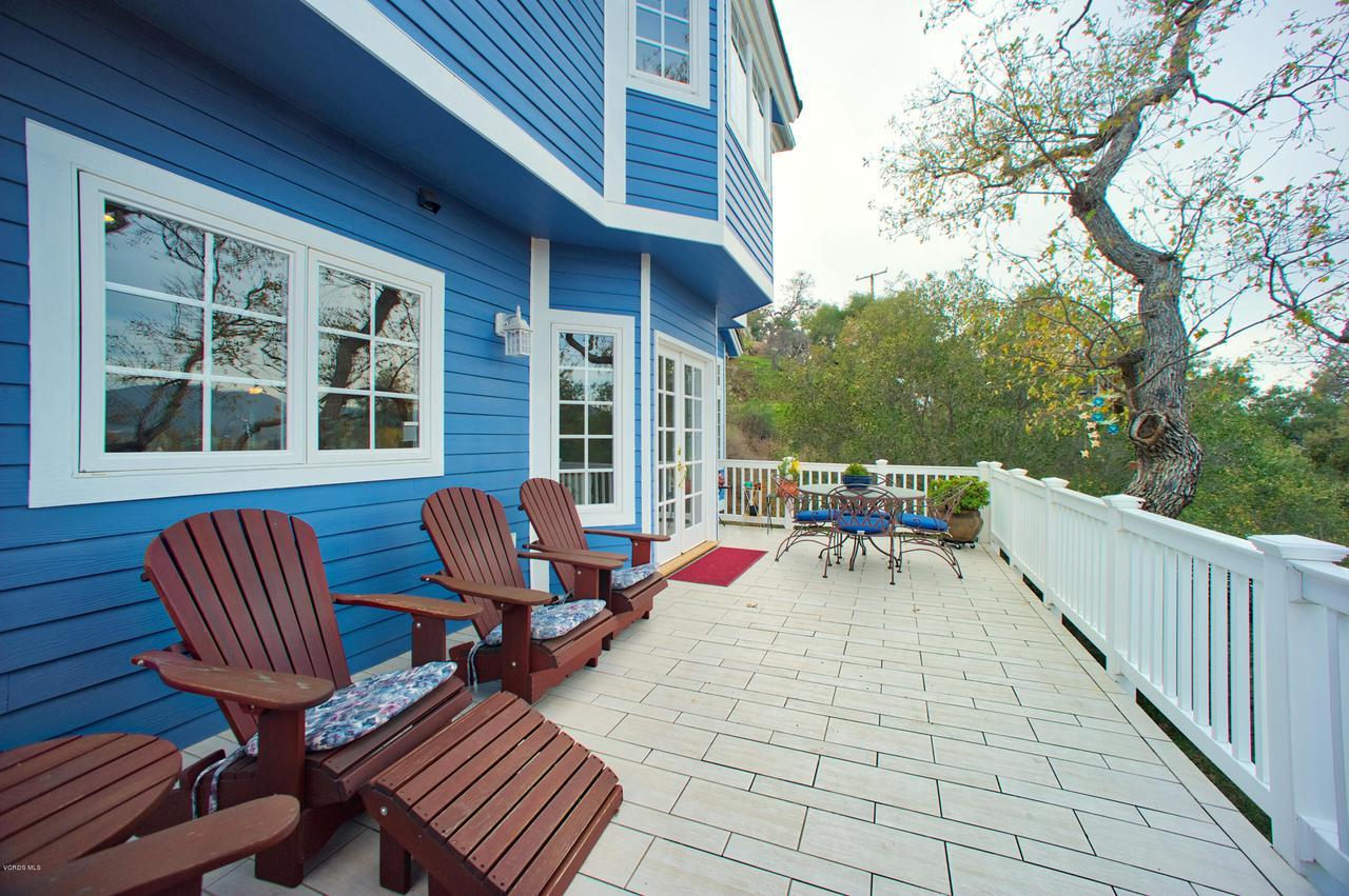 115 GILES, Lake Sherwood, CA 91361 - Main deck