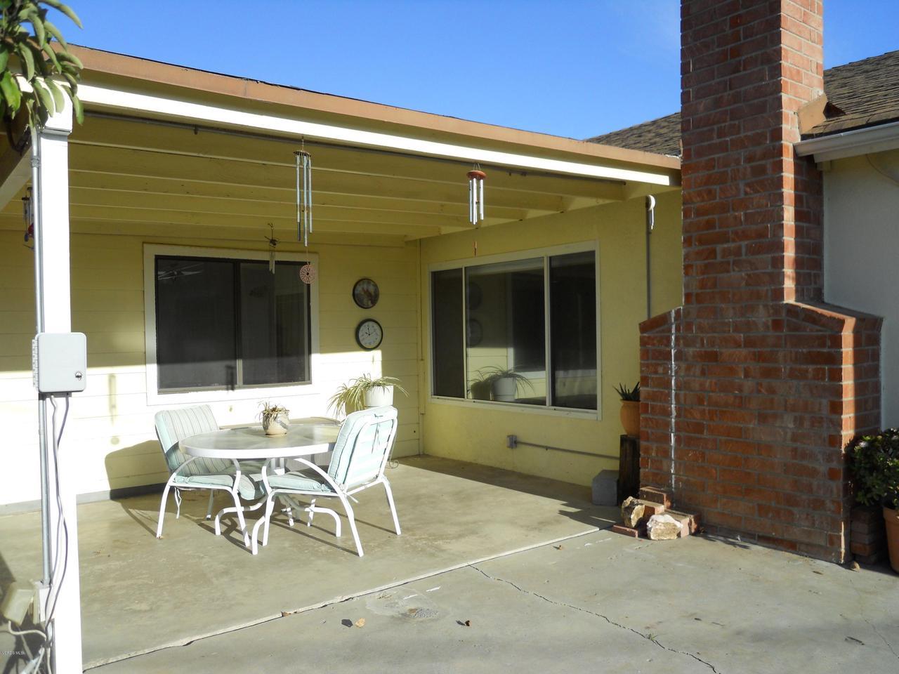 1207 SEYBOLT, Camarillo, CA 93010 - Backyard Patio