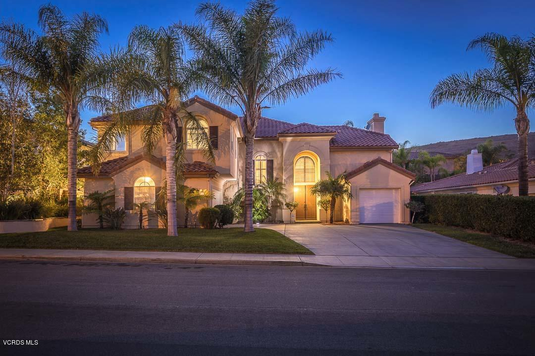 3269 LITTLE FEATHER, Simi Valley, CA 93063 - Front Sunset View