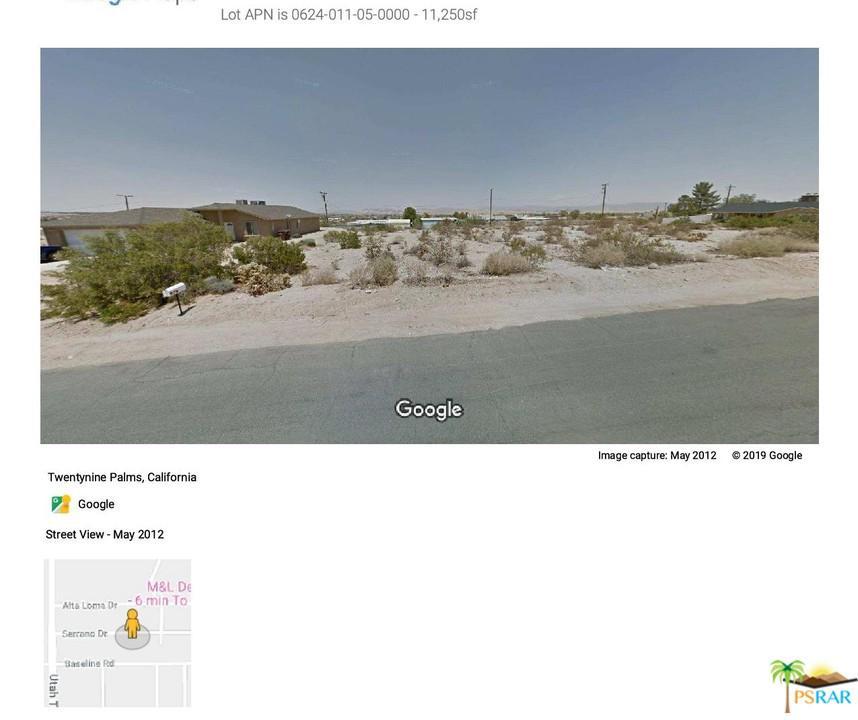 SERRANO, 29 Palms, CA 92277