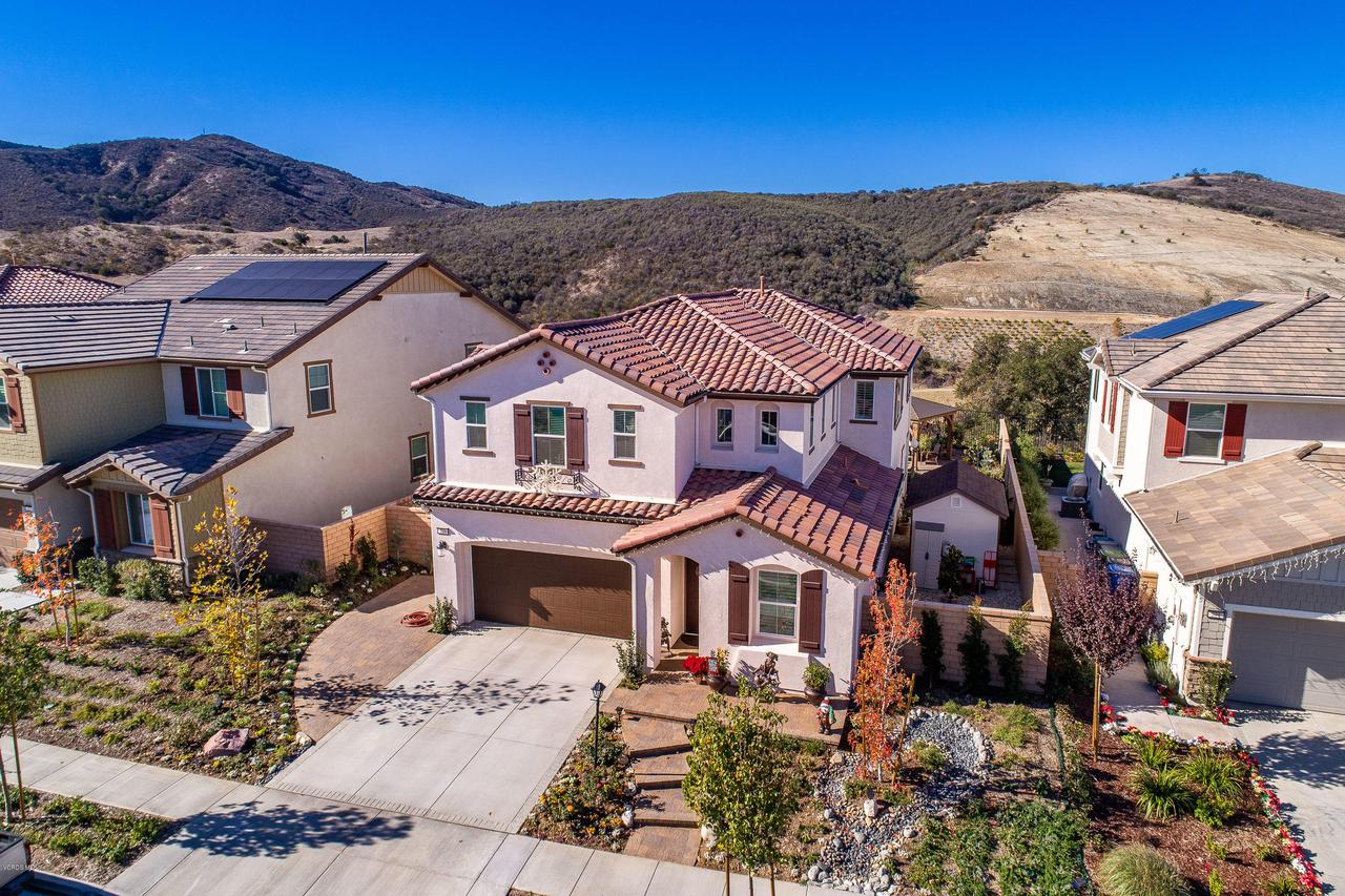 225 SEQUOIA, Simi Valley, CA 93065 - Front Aerial