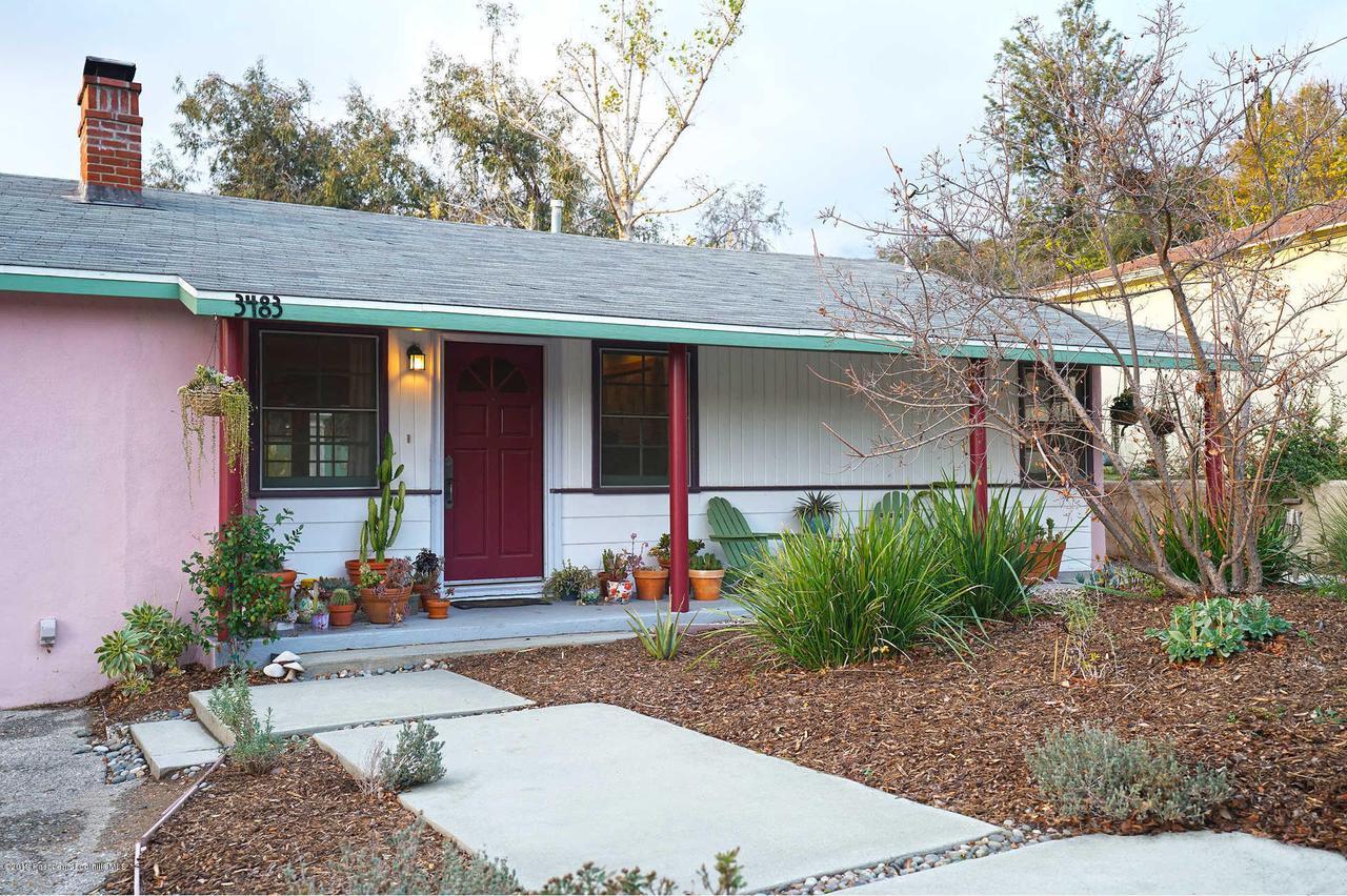 3483 GLENROSE, Altadena, CA 91001 - Large Porch