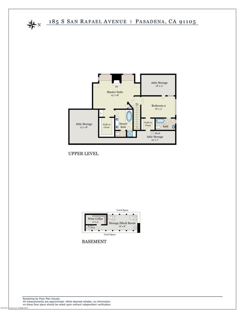 185 SAN RAFAEL, Pasadena, CA 91105 - TD-185SSanRafaelAve-FloorPlan2-Print-R2