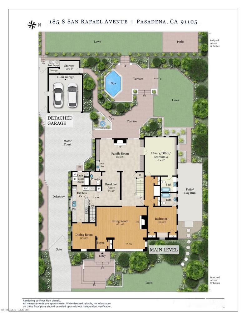 185 SAN RAFAEL, Pasadena, CA 91105 - TD-185SSanRafaelAve-FloorPlan1-Print-R2