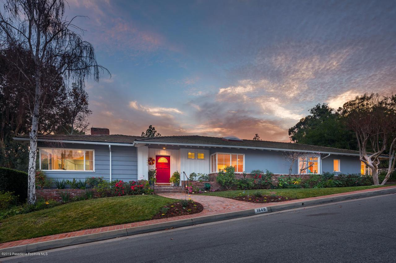 1640 KNOLLWOOD, Pasadena, CA 91103 - 1640 Knollwood Dr Pasadena CA-large-001-