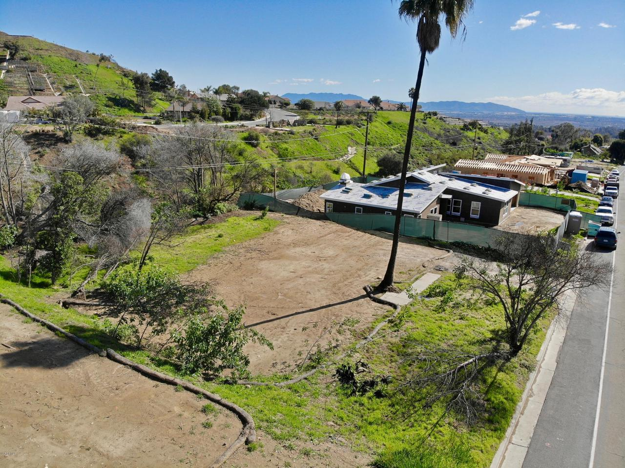 918 COLINA, Ventura, CA 93003 - Southern View from above the Lot