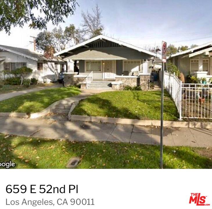 659 52ND, Los Angeles (City), CA 90011