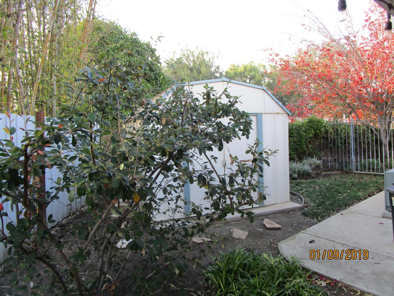 10720 TERNEZ, Moorpark, CA 93021 - Side Yard Shed