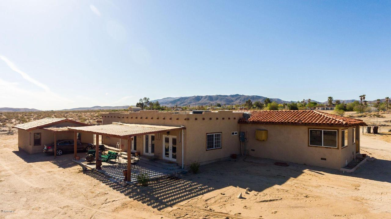 74784 FOOTHILL, 29 Palms, CA 92277 - Mountain view back home