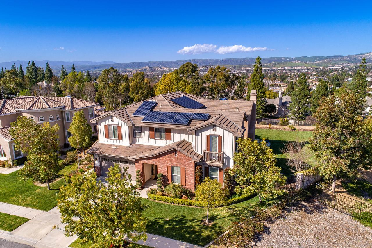 1219 WETHERBY, Simi Valley, CA 93065 - Aerial View