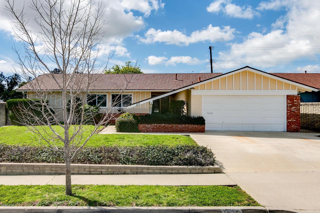 319 RIDGEWAY, Ventura, CA 93004 - 319 Ridgeway Pl-002-18-Front Exterior-ML