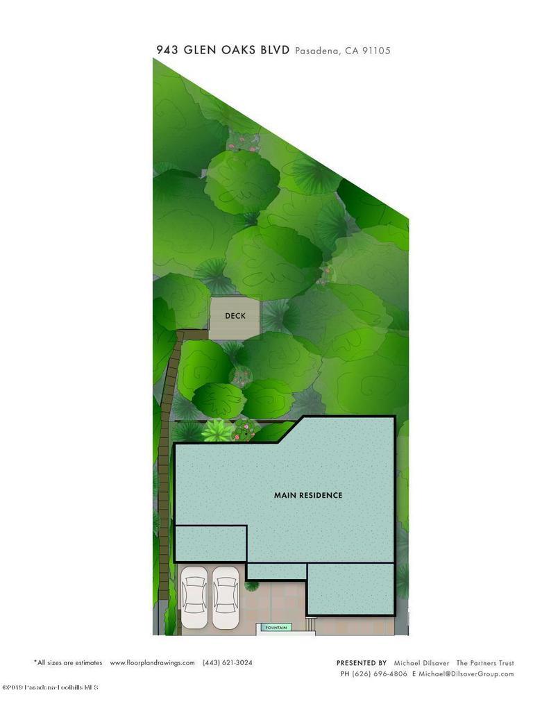 943 GLEN OAKS, Pasadena, CA 91103 - GlenOaks_sitemap