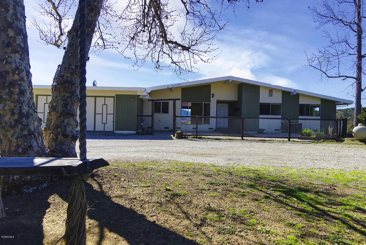 1954 COLD CANYON, Calabasas, CA 91302 - house front