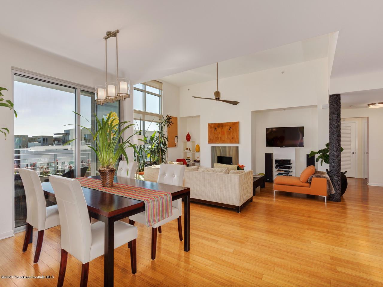 111 DE LACEY, Pasadena, CA 91105 - Living/Dining Area