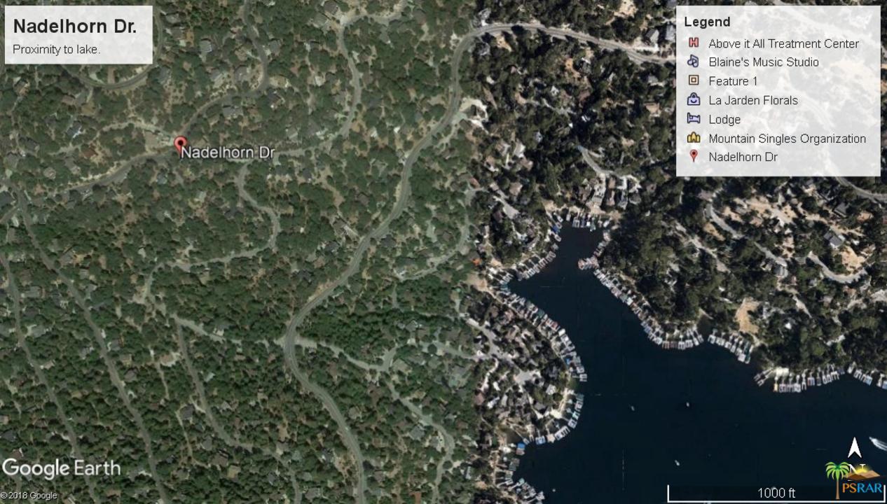 0 NADELHORN, Lake Arrowhead, CA 92352
