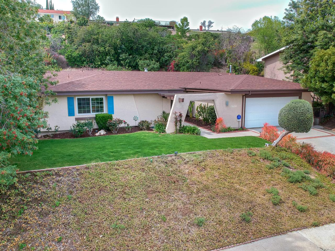 6231 PAT, West Hills, CA 91307 - Front Aerial