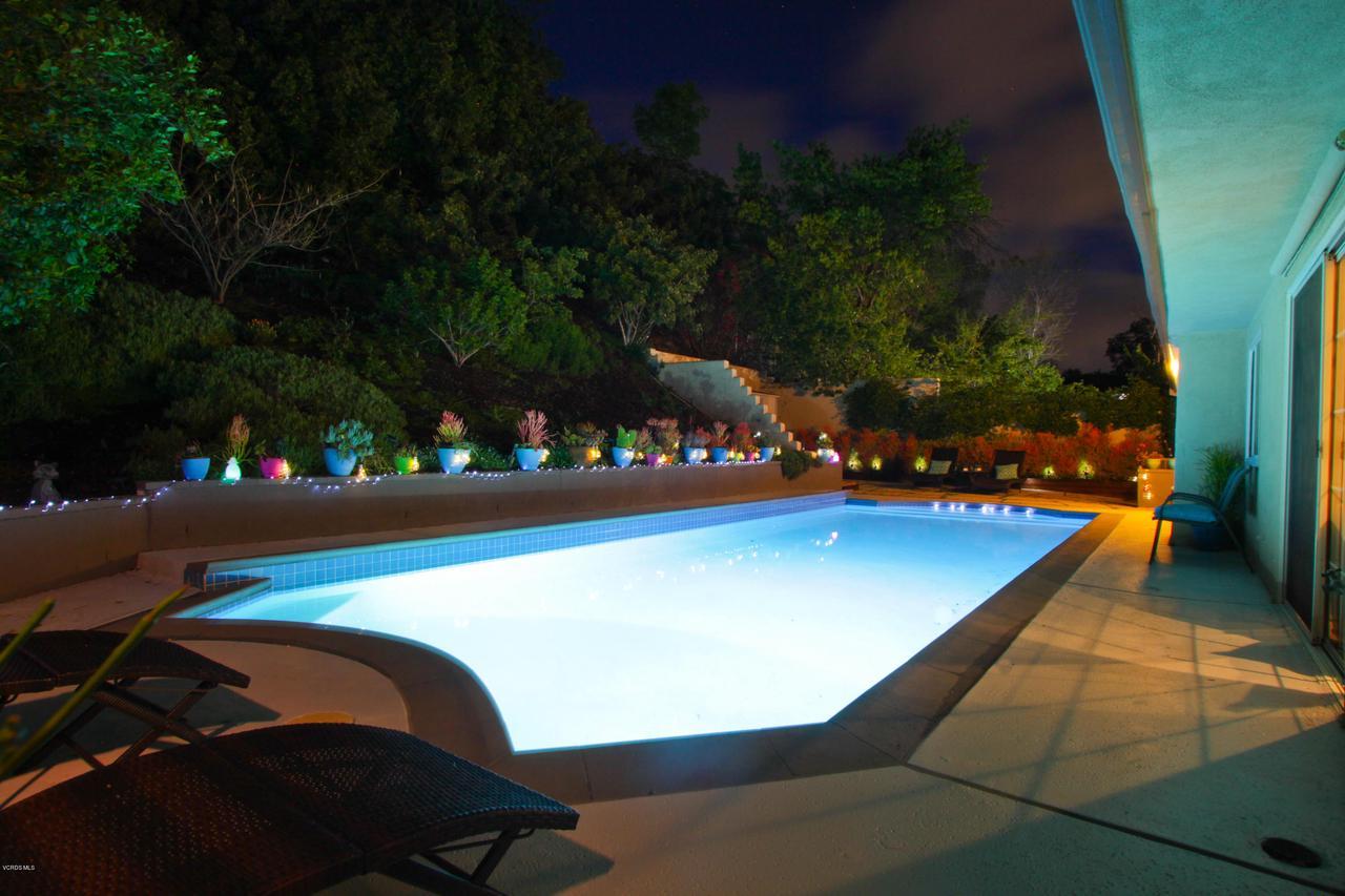 6231 PAT, West Hills, CA 91307 - Evening Pool