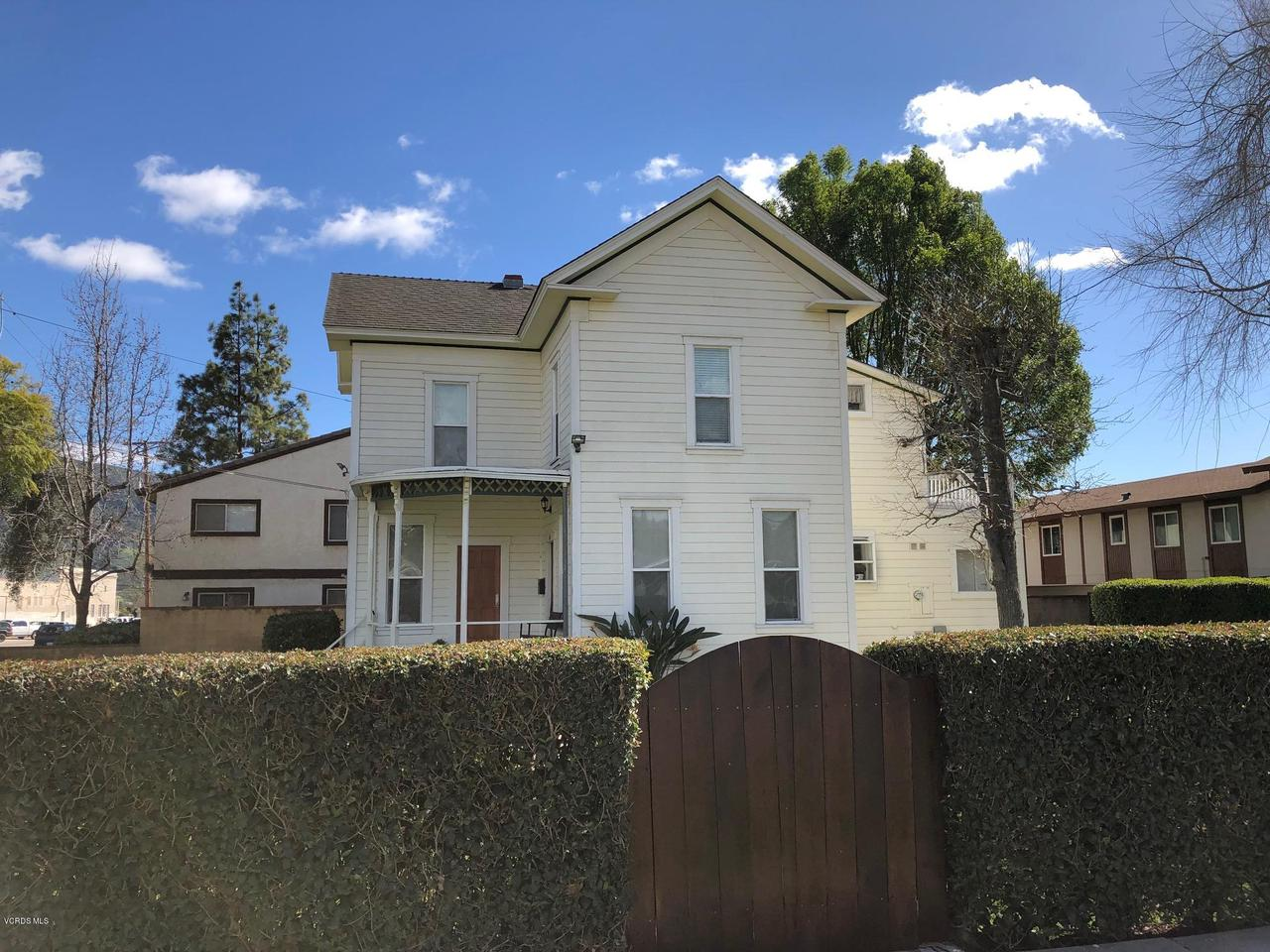 142 OLIVE, Santa Paula, CA 93060 - Front View