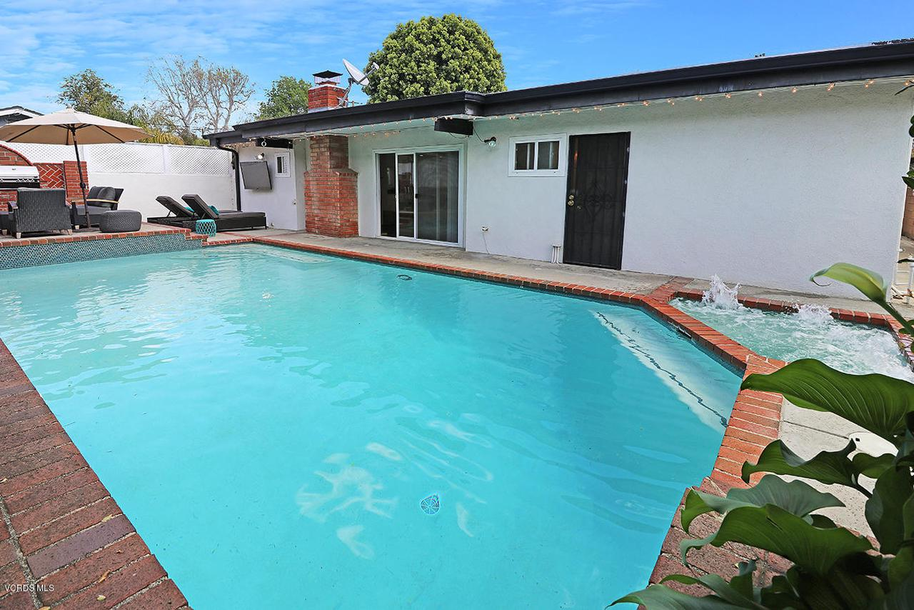 5161 WOODLEY, Encino, CA 91436 - mBackyard and Pool2