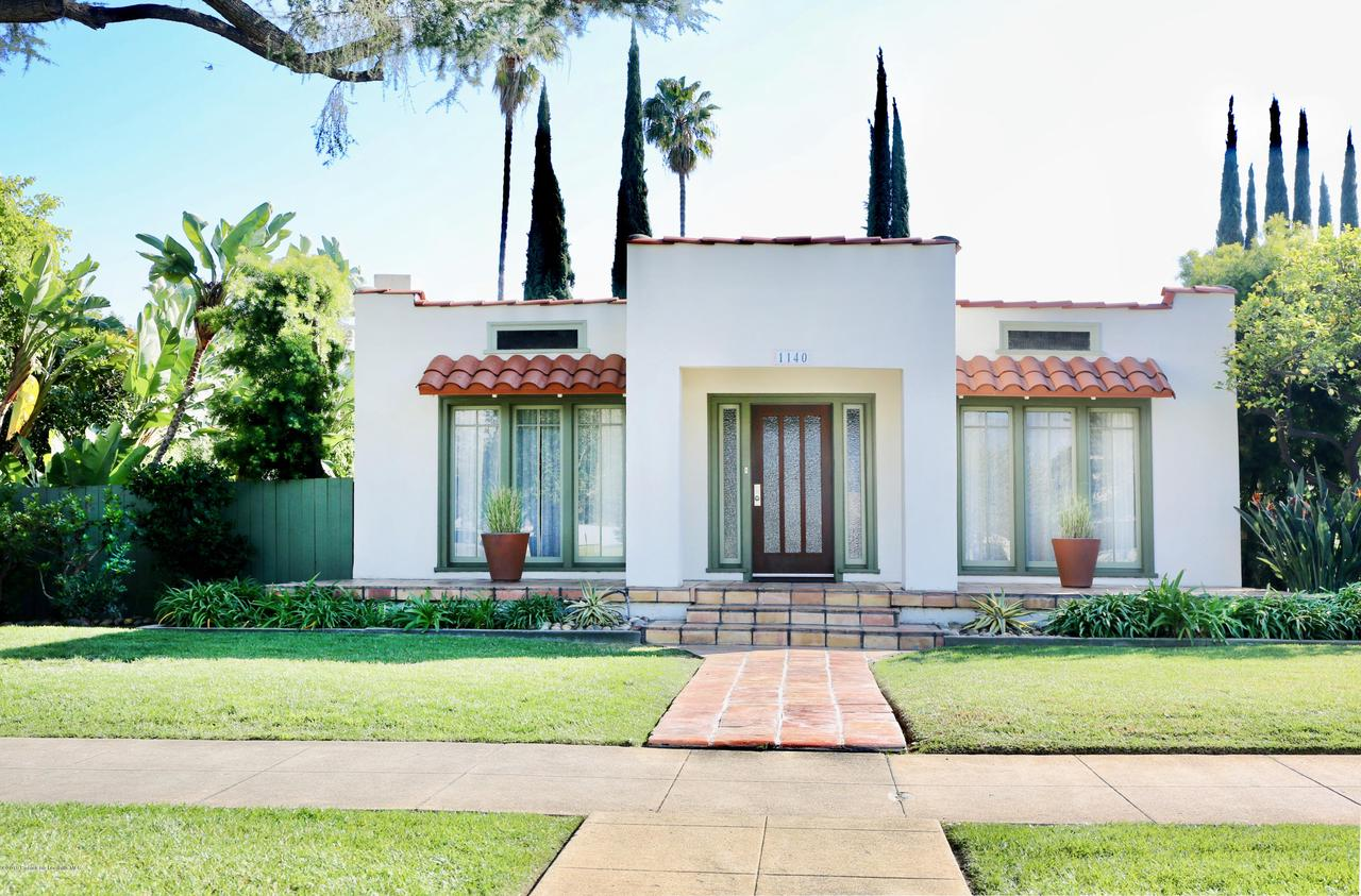 1140 ORANGE GROVE, Pasadena, CA 91104 - 1