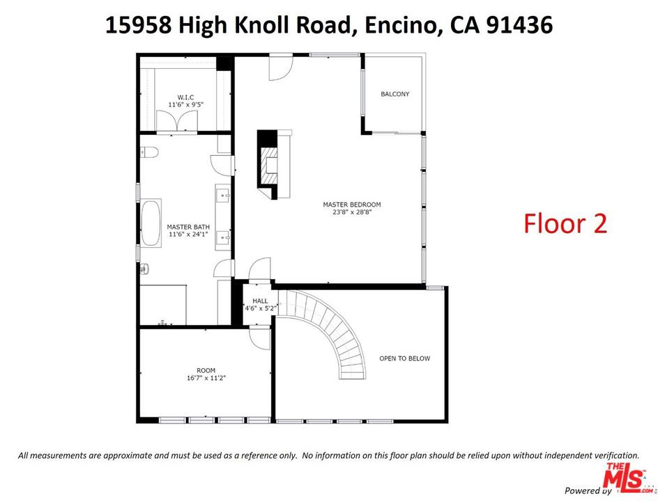 15958 HIGH KNOLL, Encino, CA 91436
