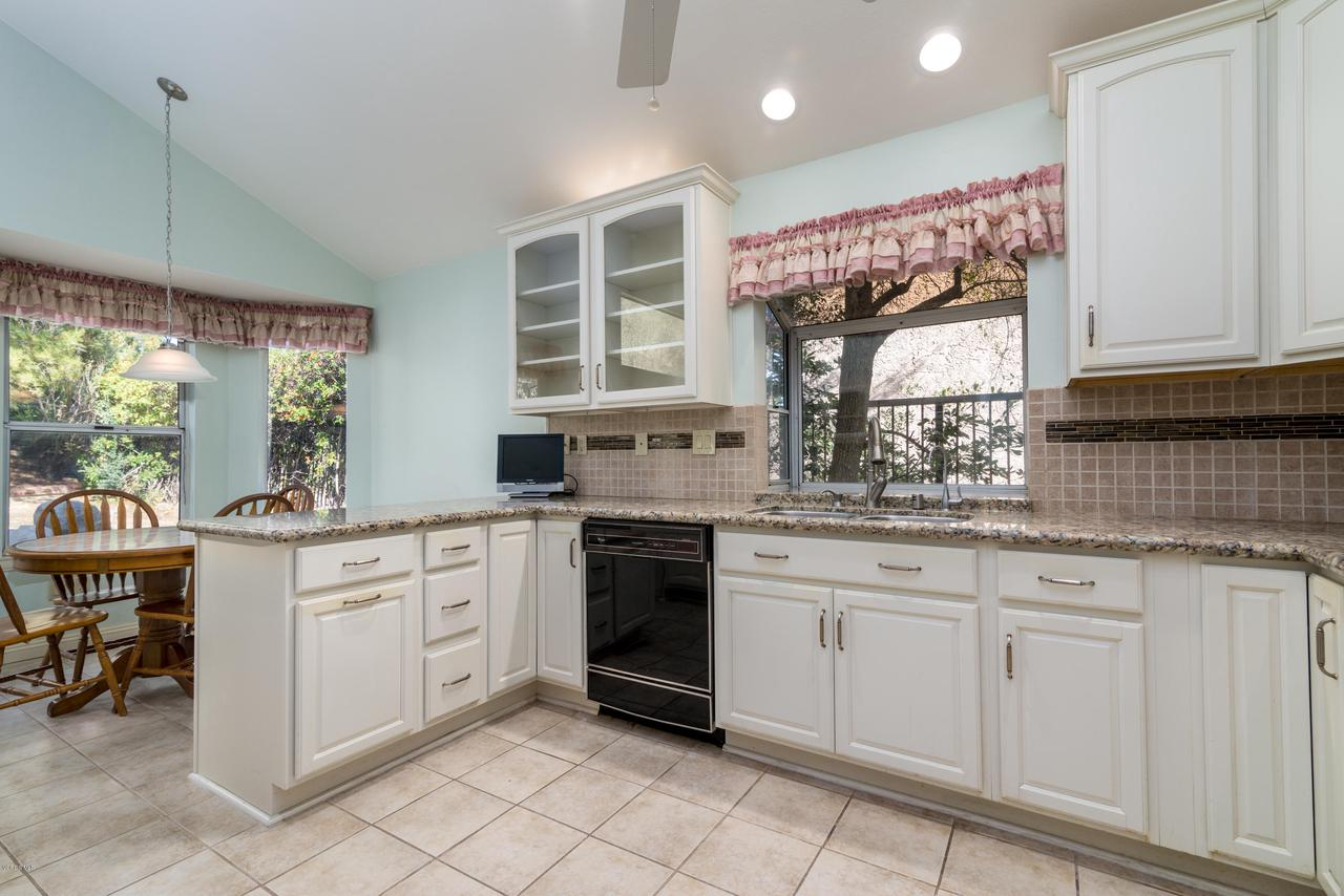 23825 STRATHERN, West Hills, CA 91304 - Kitchen with Granite Countertops