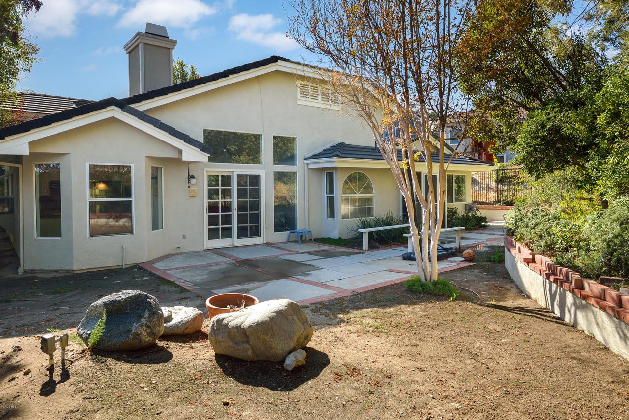 23825 STRATHERN, West Hills, CA 91304 - Back of Home