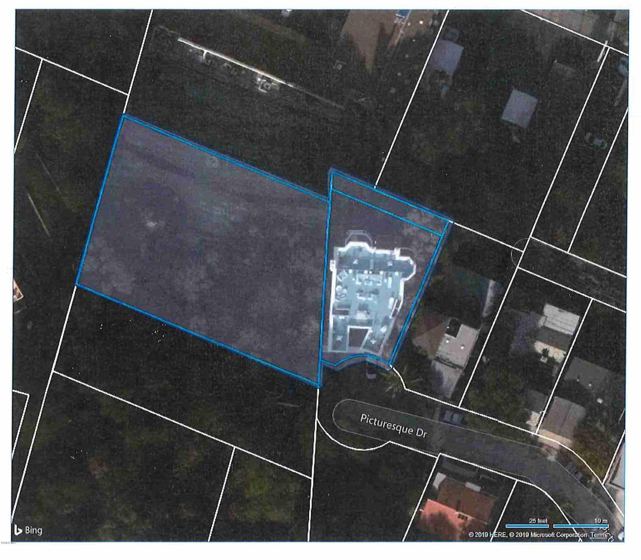 11699 PICTURESQUE, Studio City, CA 91604 - Overlay Blue Additional Lot (2)