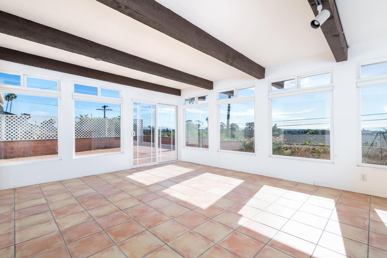 2448 SHERWOOD, Ventura, CA 93001 - Take in the view from the sunroom