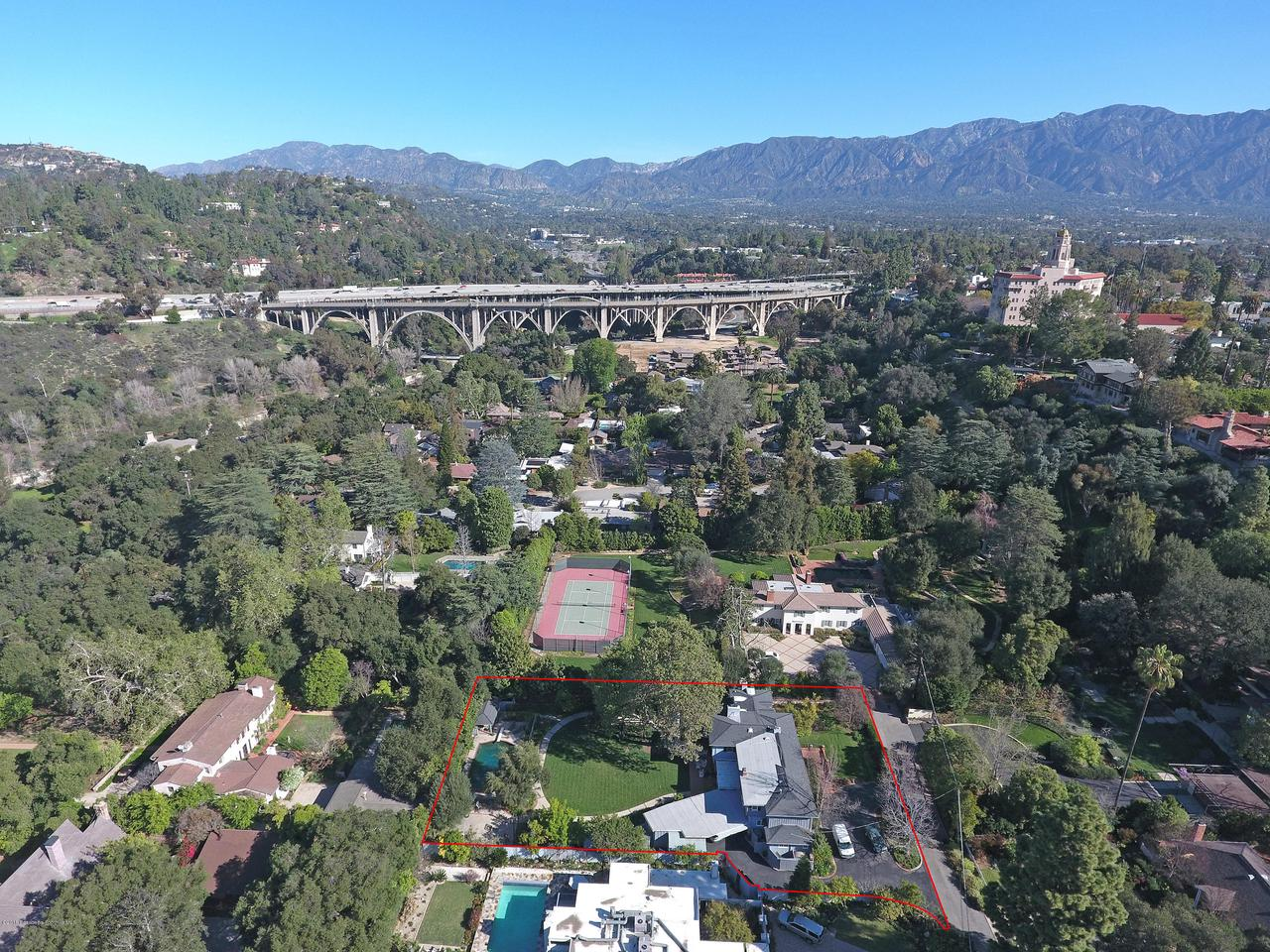271 CALIFORNIA, Pasadena, CA 91105 - 271-aerial