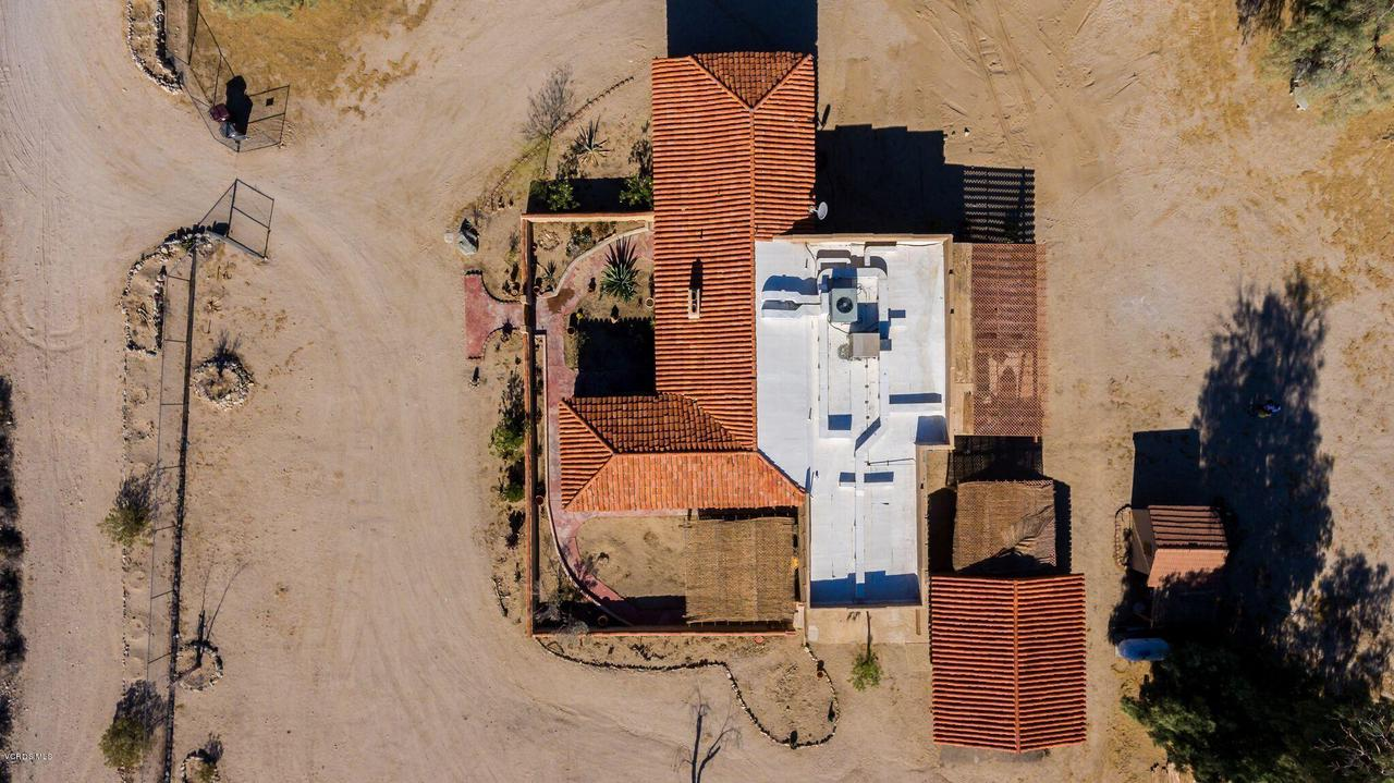 74784 FOOTHILL, 29 Palms, CA 92277 - Roof top view of lot